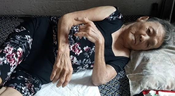 周惠英病情日益加重。