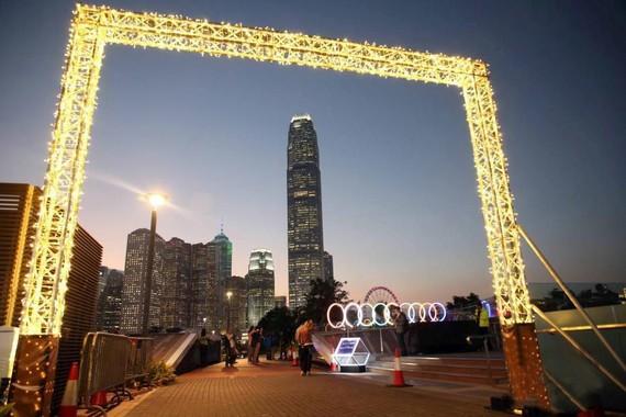 香港旅遊發展局斥資2300萬港元,首辦香港最大型戶外光影節。(圖源:互聯網)