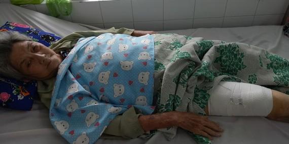 古稀老人處境可憐的甘秋阿姨。