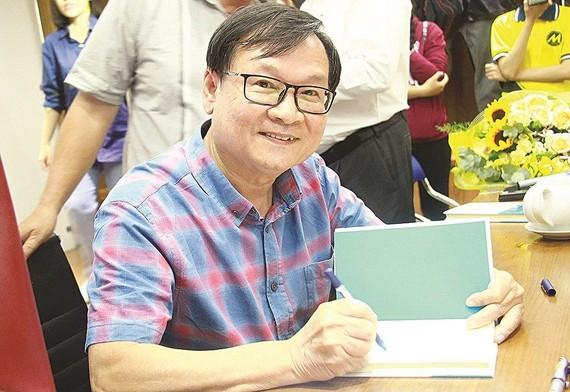 阮日映是我國吸引讀者最多的作家之一。