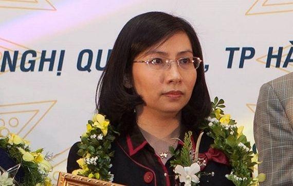 PVEP 副總經理武氏玉蘭被捕。(圖源:賢英)
