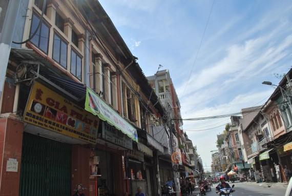 趙光復街的華人老房子。
