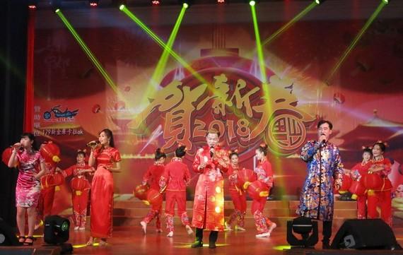 """畢寶藤舉辦""""快樂新的一年""""演唱會。"""