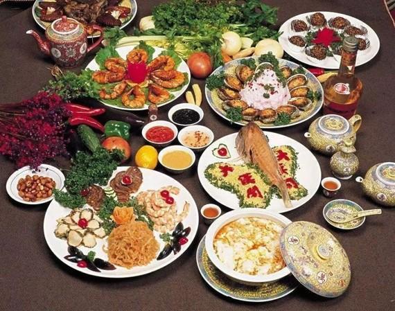 如今的春節飲食更注重營養搭配。