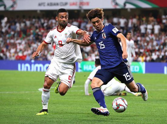日本隊3比0淘汰伊朗隊晉級決賽。(圖源:互聯網)