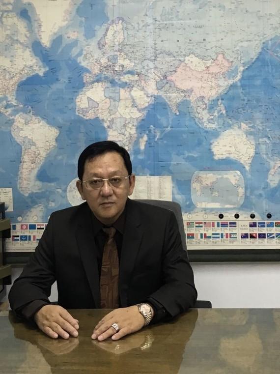 興通實業公司總經理麥漢強。