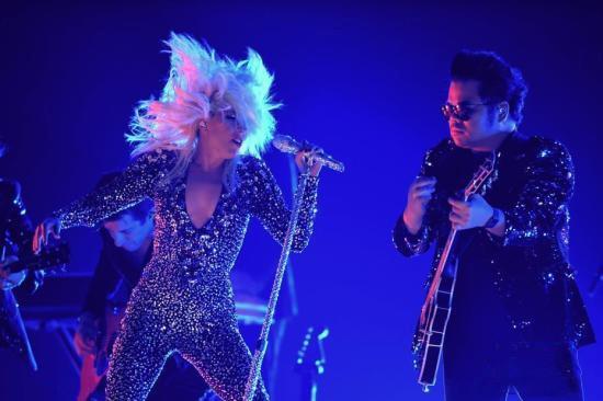 Lady Gaga獻唱。(圖源:互聯網)