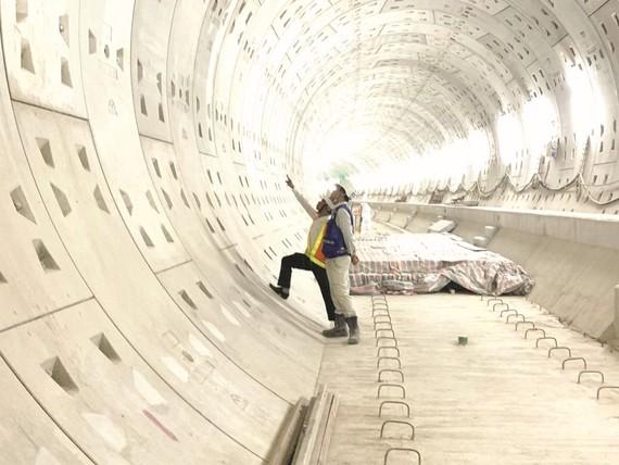 地鐵1號線工地。