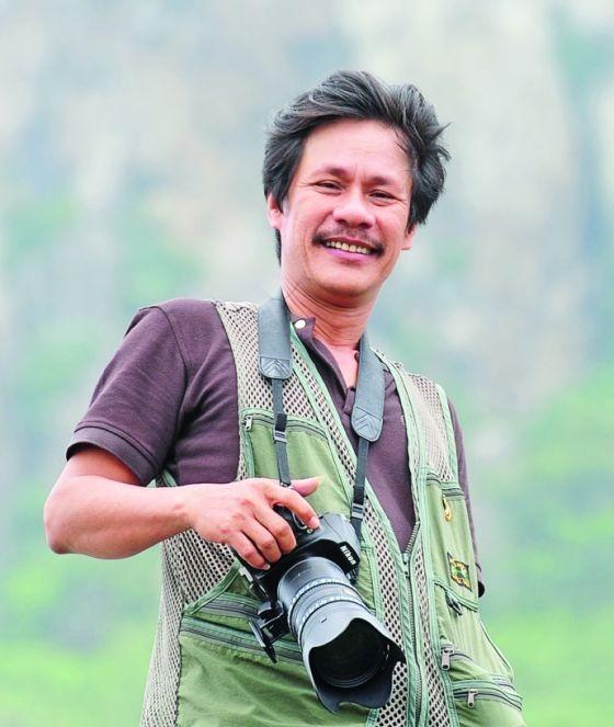 藝人攝影師蔡番。