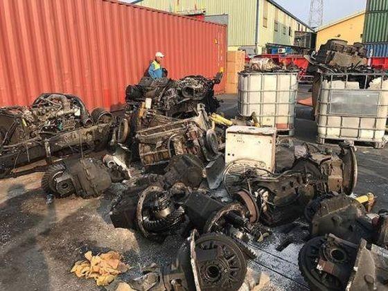 截至去年12月,越南的進口垃圾最多來自日本,繼後是美、德、英和韓國。甚至泰國也在向越南出口垃圾。(圖源:民智)