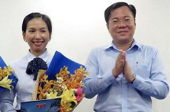 齊智勇(右)和胡氏清福(左)。(圖源:Sadeco)