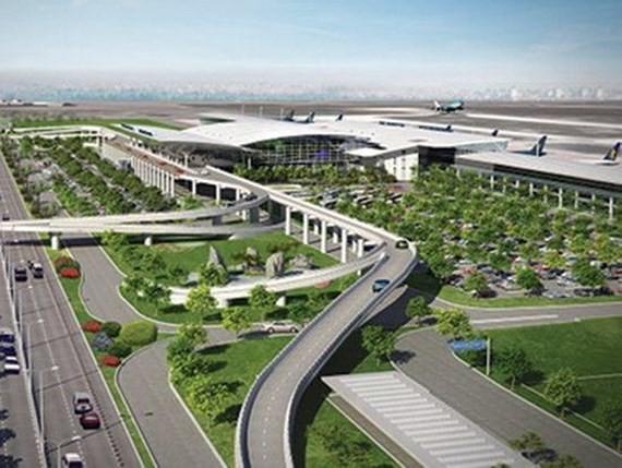 隆城机场有望 2020 年底施工。图为隆城机场效果图。(图源:越通社)