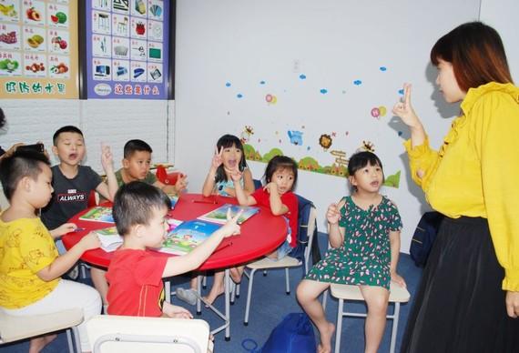 """""""快樂漢語班""""提高師生之間的互動。"""