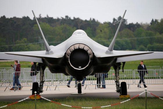 F-35戰機。(圖源:路透社)