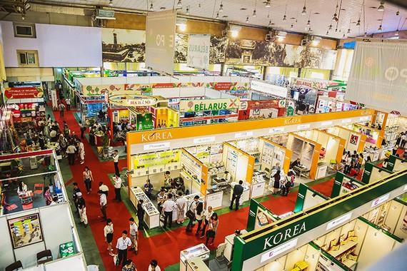 圖為韓國產品展會一瞥。(示意圖源:互聯網)
