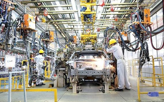 调降零部件税辅助国内汽车工业。(示意图源:互联网)