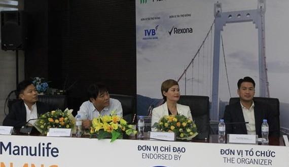 峴港國際馬拉松組委會在新聞發佈會上。