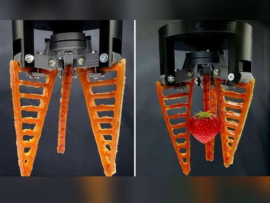 英國劍橋大學研究人員開發可自我修復柔性機器人。(圖源:互聯網)
