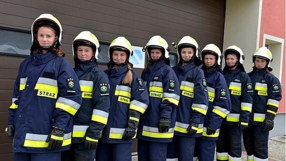 村裡的志願消防隊隊員幾乎都是女性。(圖源:互聯網)