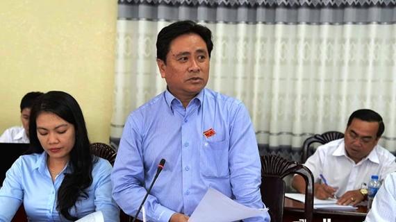 新任前江省人委會副主席陳文勇。(圖源:北平)