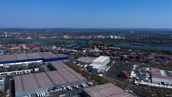德國杜伊斯堡港。(圖源:新華社)