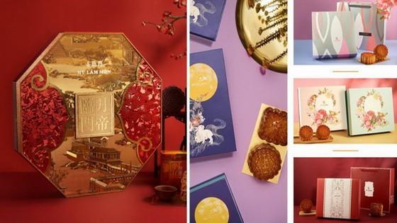 喜臨門餅家款式豐富月餅禮盒。