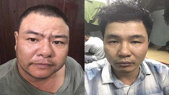 被抓獲的2名販毒嫌犯武玉雲(左圖)及裴文蝶。(圖源:阮新)
