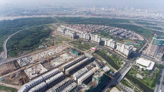 从高处俯瞰的守添新都市区一瞥。(图源:TTO)