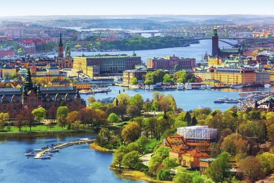 圖為瑞典知名景點的斯德哥爾摩一瞥。(圖源:Getty Images)