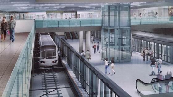 本市斥资兴建地下商业中心。(示意图源:互联网)