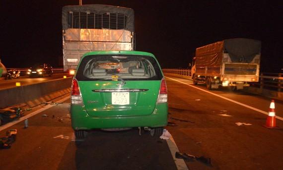 Hiện trường vụ tai nạn làm 3 người tử vong tại chỗ
