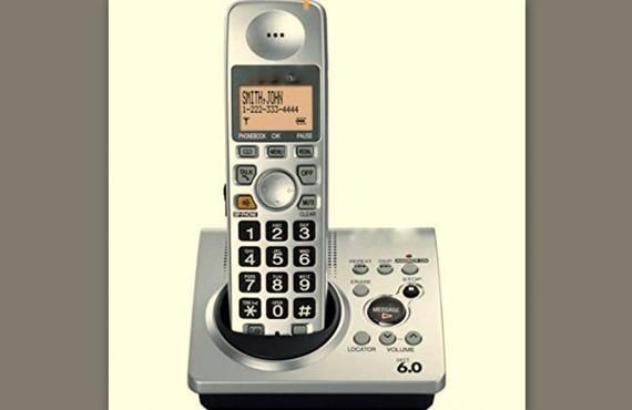Mẫu điện thoại chuẩn DECT6.0 gây can nhiễu