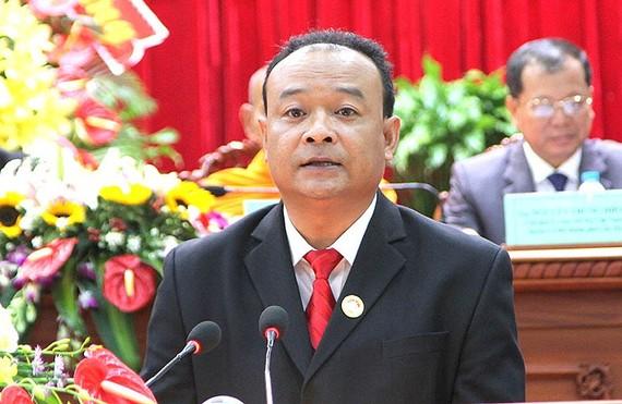 Ông Nguyễn Ngọc Tâm được giới thiệu, hiệp thương giữ chức Chủ tịch Ủy ban MTTQ Việt Nam TP Cần Thơ. Ảnh: TUẤN QUANG