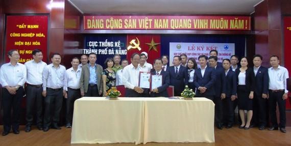Sở NN-PTNT và Cục Thống kê thành phố  Đà Nẵng ký kết quy chế phối hợp