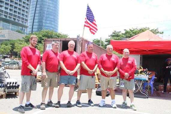 """Đội pháo hoa của Mỹ đã sẵn sàng vẽ """"bức họa ánh sáng"""" trên bầu trời Đà Nẵng"""