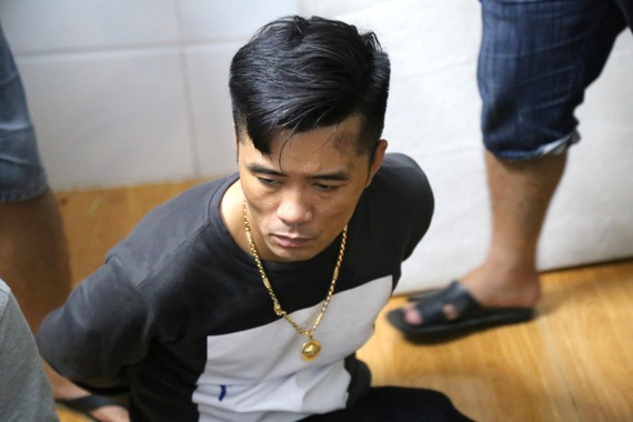 Đối tượng Lê Văn Quốc Vũ bị bắt