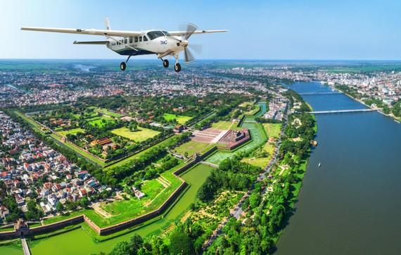 Khai trương đường bay Đà Nẵng - Huế bằng thủy phi cơ