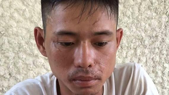 Đối tượng Nguyễn Tuấn Anh tại cơ quan điều tra