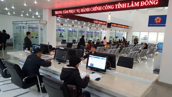 Thành lập trung tâm phục vụ hành chính công Lâm Đồng
