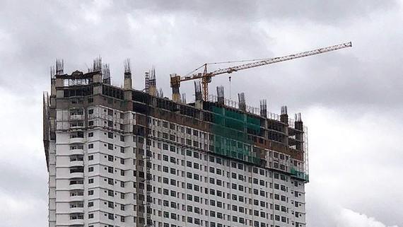 Phần xây sai phạm của dự án Mường Thanh