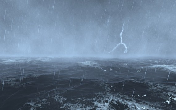 Thời tiết ở Bắc biển Đông đang trở xấu do hình thành vùng áp thấp