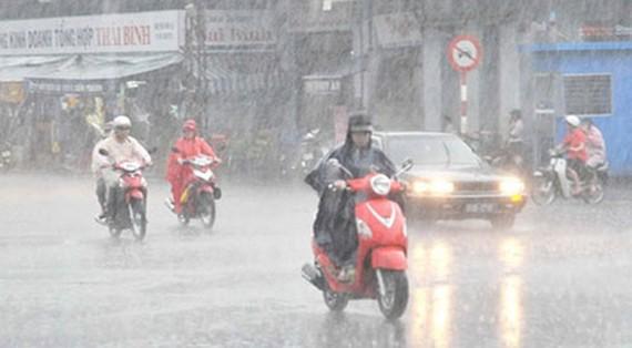 Trong 2 ngày 16 và 17-2, tại miền Bắc có mưa to, thời tiết xấu