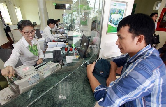 A Vietcombank branch in Phu Quoc Island. The bank is one of the highest lending revenue earners in the first quarter. (Photo: VNA/VNS)