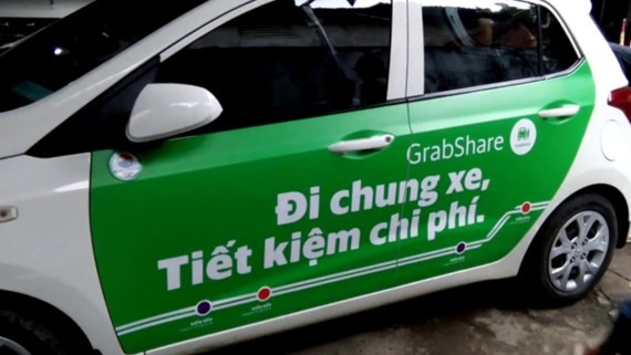 Grab Taxi Company has launched GrabShare service in Vietnam