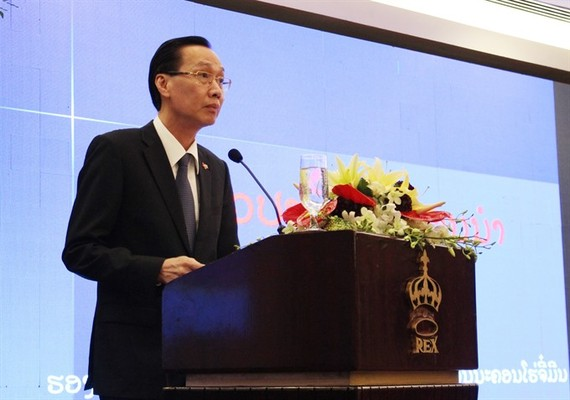 Le Thanh Liem, deputy chairman of the HCM City People's Committee, said being a major economic and cultural centre of Vietnam, the city considers Laos a strategic and promising market for investment and trade. (Photo: VNS)