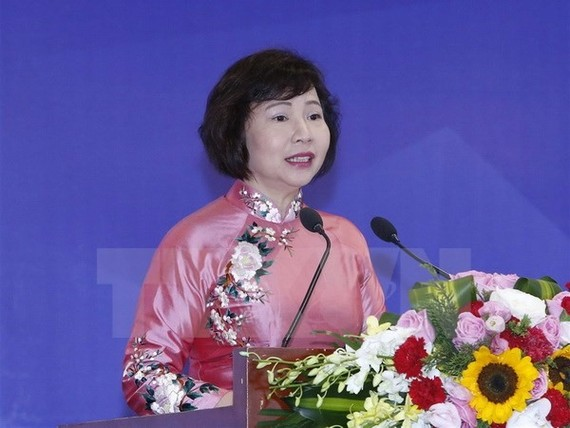 The Party's Central Committee yesterday recommended firing Deputy Minister of Industry and Trade Ho Thi Kim Thoa. (Photo: VNA/VNS)