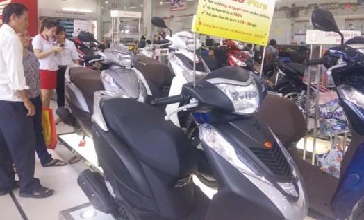 A motorcycle shop in HCMC (Photo: SGGP)