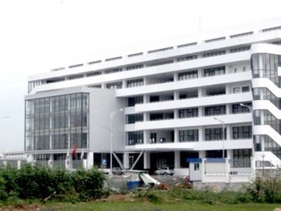The management building of the second metro line, one out of five major bid packages of the project