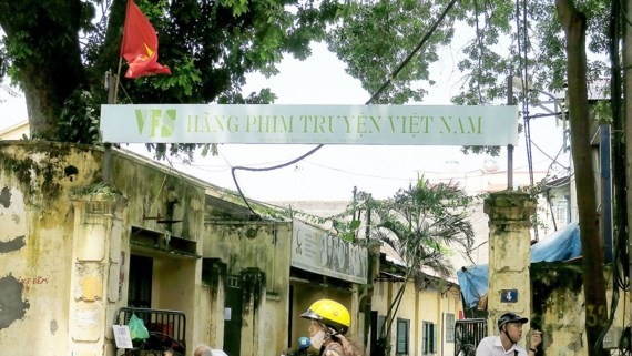 The headquarters of Vietnam Feature Film (VFS) in Hanoi