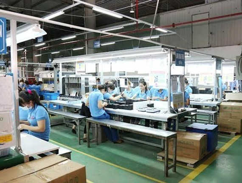 Goldsun Plant, one of suppliers of Samsung Vietnam (Photo: SGGP)